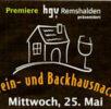 1. Wein- und Backhausnacht