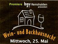 2016 Wein- und Backhausnacht