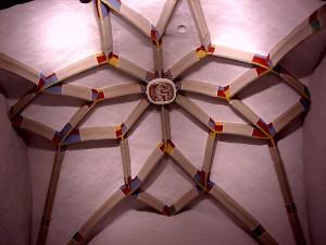 Wappen des Bischoff von Konstanz in der Buocher Kirche