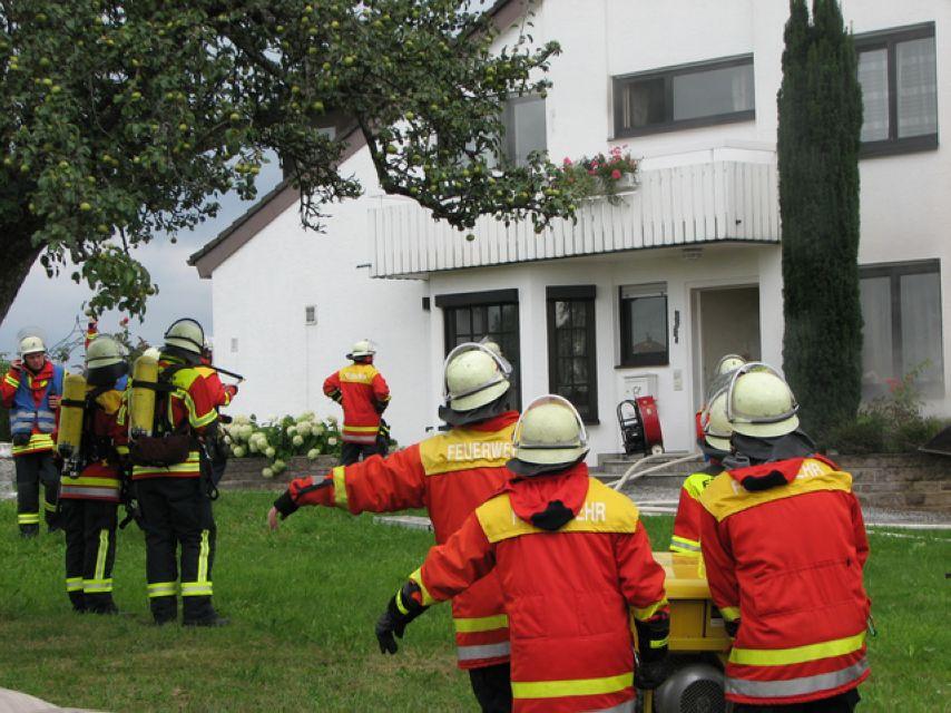 60.000 Euro Sachschaden bei Brand in Doppelhaushälfte