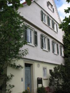 Pfarrhaus in Buoch