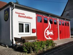 Feuerwehrgerätehaus in Buoch