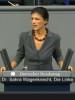 """Dr. Sahra Wagenknecht (Die Linke) wirft der GroKo """"Wahlbetrug"""" vor"""