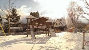 Spielplatz mit Turmhaus