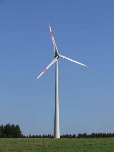 Windkraftpark auf der Buocher Höhe
